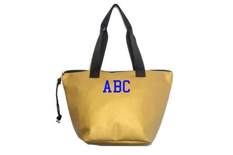 Shopping Bag Oro SocialBag Ecopelle