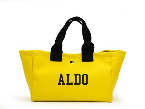 Mini shopping bag Giallo SocialBag Ecopelle