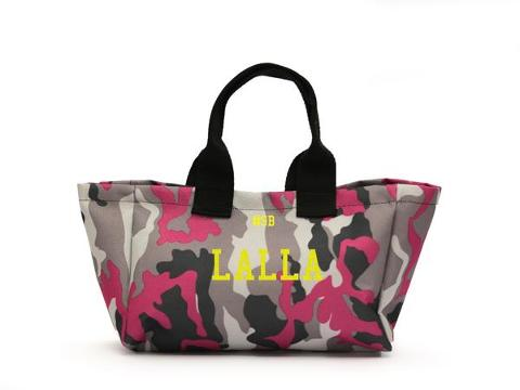 Mini shopping bag Mimetica Fuxia SocialBag Ecopelle