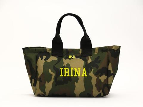 Mini shopping bag Mimetica SocialBag Ecopelle