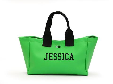 Mini shopping bag Verde Acceso SocialBag Ecopelle