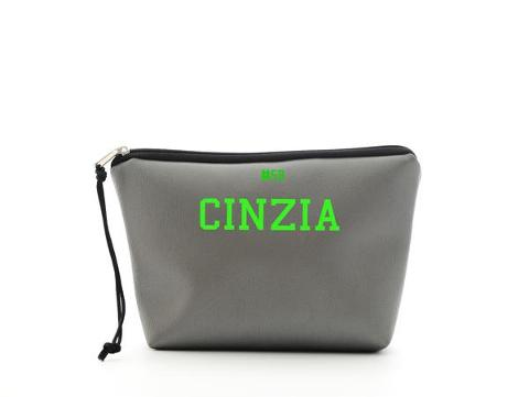 Mini beauty Grigio SocialBag Ecopelle