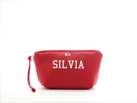 Mini beauty Rosso SocialBag Ecopelle