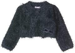 Coprispalle in tricot effetto pelliccia Brums
