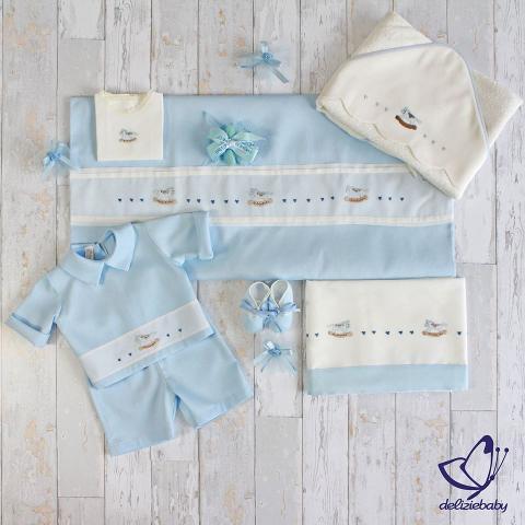 Coordinato Franz - Delizie Baby - Primavera/Estate