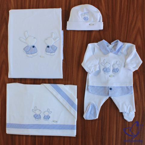 Coordinato coniglietti Primodì Bebè Primavera/Estate