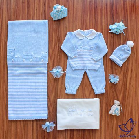 Coordinato Trenino Primodì Bebè Autunno/Inverno
