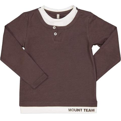 Tshirt finta maglia sotto Trybeyond Autunno/Inverno
