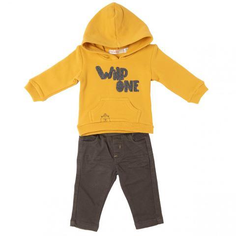 Felpa e pantalone Babybol