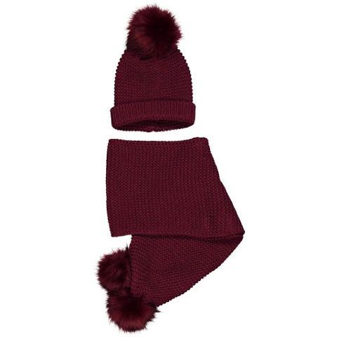 Sciarpa e cappellino pon pon Birba Autunno/Inverno
