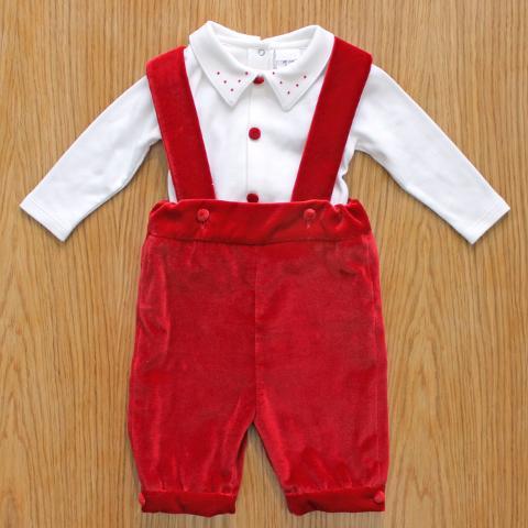 Completo pantalone e body Delizie Baby