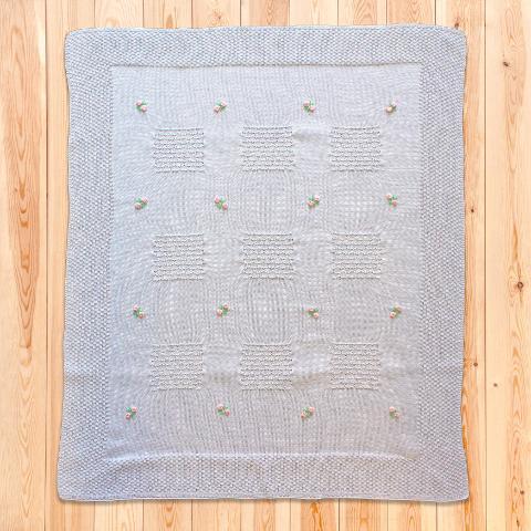 Copertina Matilda - in filo di cotone - DelizieBaby - Primavera/Estate