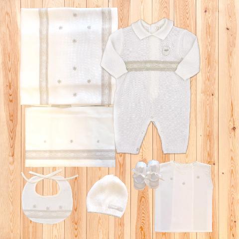 Coordinato Charlie - in filo di cotone - Delizie Baby - Primavera/Estate