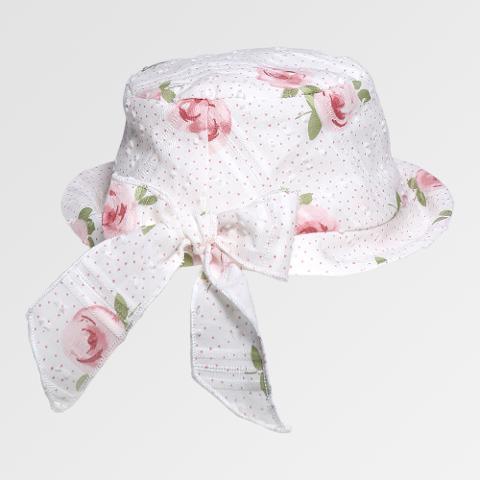 Cappellino rose Lalalù Primavera/Estate