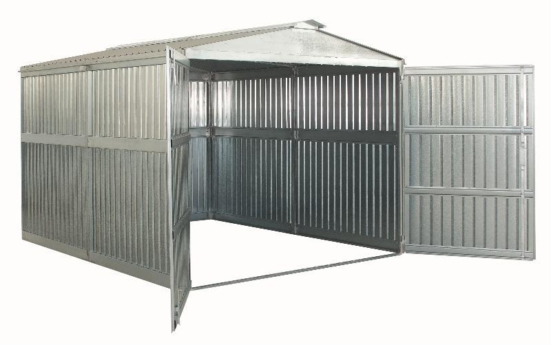 Box in lamiera zincata o preverniciata socome box mazara for Box garage lamiera