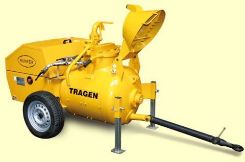 Pompa per sottofondi Bunker Tragen B250