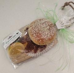 Tagliere pane con alici (frutta di martorana a km 0) La Casetta Verde confezione da .ca 250 gr.