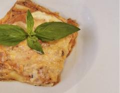 Lasagne in salsa giardino La Casetta Verde porzione da .ca 400 gr.