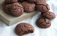 Biscotti Cioccosi di Grano Duro con un cuore morbido al fondente  Conf. da 180 gr. (.ca)
