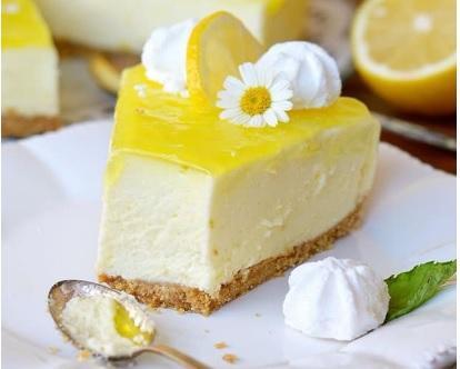 Porzione Torta Agrumata da .ca 250 al limone con frutta fresca di stagione