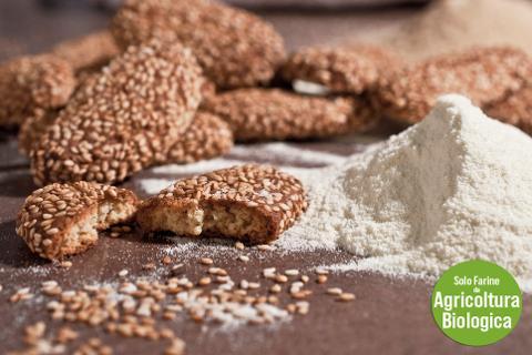 Biscotti Reginelle di grano duro La Casetta Verde conf. da 270 gr. (.ca)