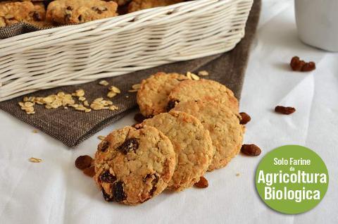 Biscotti  ai fiocchi d'Avena Energetici Conf. da 230 gr. (.ca)
