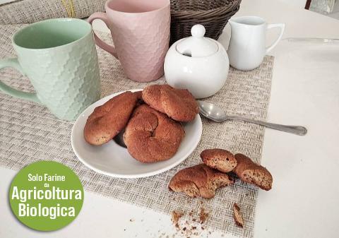 Biscotti di Grano saraceno e Farro VEGANI Conf. da 150 gr. (.ca)