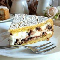 Crostata con ricotta biologica e gocce di cioccolato fondente La Casetta Verde porzione da circa 300 gr.