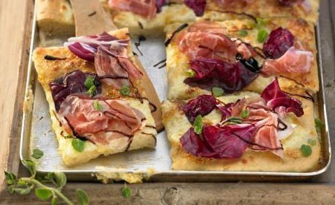 Pizza Radicchiosa La Casetta Verde porzione da .ca 250 gr.