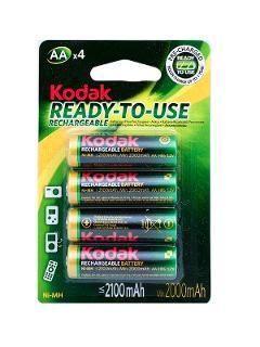 Batteria Stilo Ricaricabili 2100 mAh Kodak Kodak