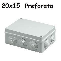 Cassetta 15x20 IP65 C/Gommini Marlanvil
