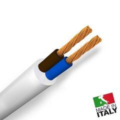 Cavetto Similgomma 2x1 Bianco *(prezzo al mt)