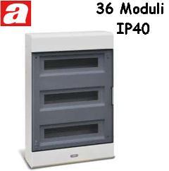 Centralino da Parete 36 Moduli IP40 AVE
