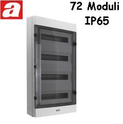 Centralino da Parete 72 Moduli IP65 AVE