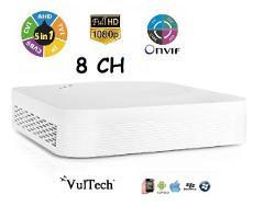 DVR 5in1 8 Canali 2 Megapixel LITE H265 Vultech