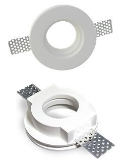 Faretto Incasso Gesso Rotondo Bianco V-Tac