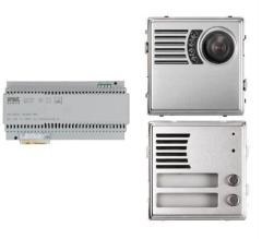 Kit base impianto Videocitofono 2Voice 2 Pulsanti Urmet
