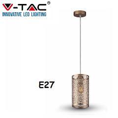 Lampadario Sospensione Oro e Champagne E27 V-TAC