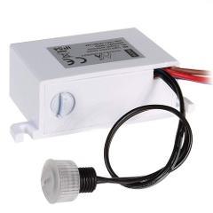 Mini Sensore Crepuscolare per Esterno IP54 1A