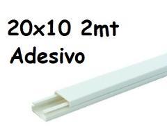 Minicanale 20x10 Adesivo Rosi