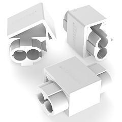 Morsetto Rubacorrente a perforazione 0,75 / 2,5 mmq Bianco AUPROTEC