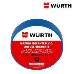 Nastro Isolante 19x25 Blu Wurth