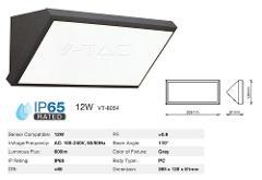 Plafoniera Parete LED 12w IP65 Luce Natura Grigia V-TAC