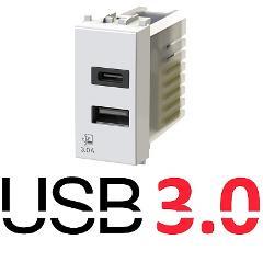 Presa USB 3A Compatibile Vimar Plana Vimar