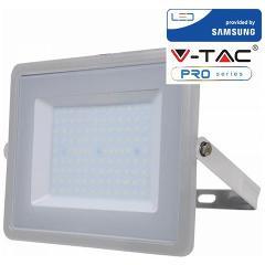 Proiettore Led 100W Luce Fredda SLIM 8000 Lumen PRO V-TAC