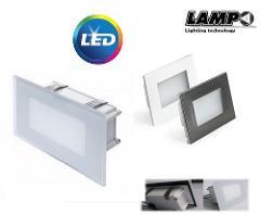 Segnapasso LED 5w per Scatola 506 200 Lumen 4000K LAMPO