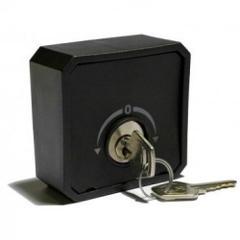 Selettore a chiave da esterno in struttura ABS Nologo