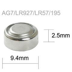 Batteria a Bottone 1,5V LR57 LR926 395 AG7