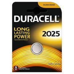Batteria a Bottone 3V CR2025 Duracell 2025DUR