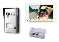 Kit Videocitofono Monofamiliare 2 Fili Robovision KIT-ROBO1